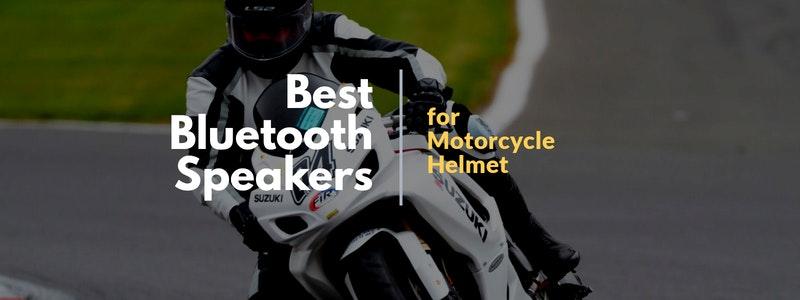 Best Bluetooth Speakers For Motorcycle Helmet In 2021 Reviews